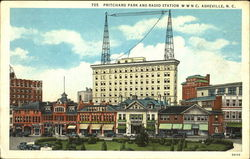 Pritchard Park And Radio Station WWNC