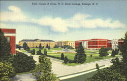 Court Of Ceres, N. C. State College