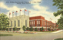 William Neal Reynolds Coliseum, N. C. State College Postcard