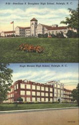 Needham B. Broughton High School Postcard