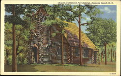 Chapel At Restored Fort Raleigh