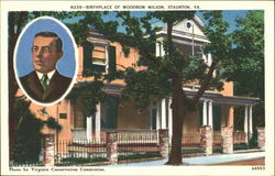 Birth Place Of Woodrow Wilson