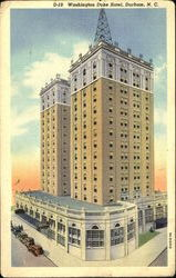 Washington Duke Hotel Postcard