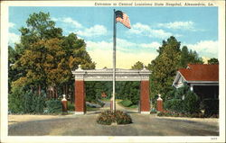 Entrance To Central Louisiana State Hospital