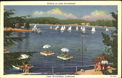Sailing On Lake Arrowhead