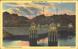 Sunset At Boulder Dam
