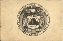 The Great Seal Of The State Of Utah