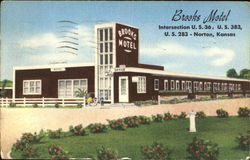 Brooks Motel, U. S. 36, U. S. 383, U. S. 283