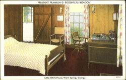 President Franklin D. Roosevelt's Bedroom