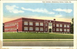 Carr Institute Elementary School Postcard