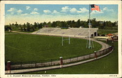 J. C. Donnell Memorial Stadium Postcard