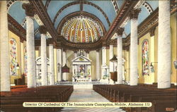 Interior Of Cathedral Of The Immaculate Conception
