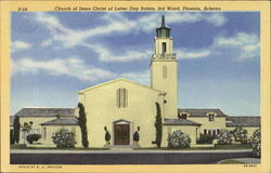 Church Of Jesus Christ Of Latter Day Saints Postcard