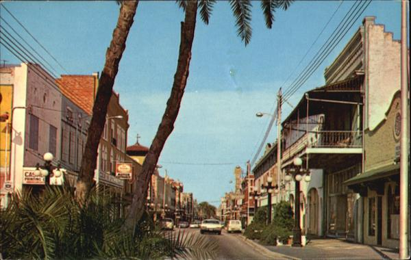 East Seventh Avenue Of Ybor City Tampa Florida