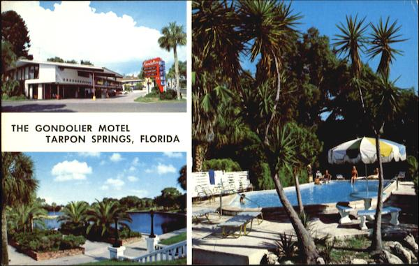 The Gondolier Motel, 110 W. Tarpon Ave Tarpon Springs Florida