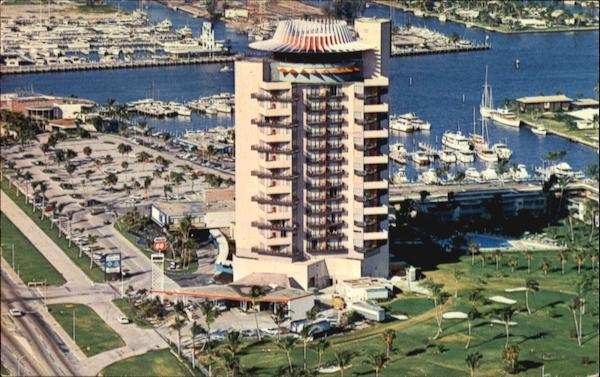 Aerial View Of Pier 66 Fort Lauderdale Florida