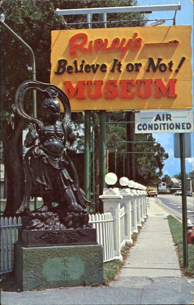 Ripley's Believe It Or Not Museum St. Augustine Florida