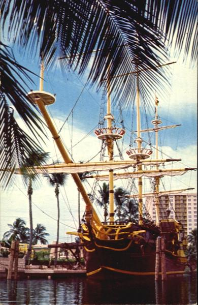 The Spanish Treasure Florida Boats, Ships