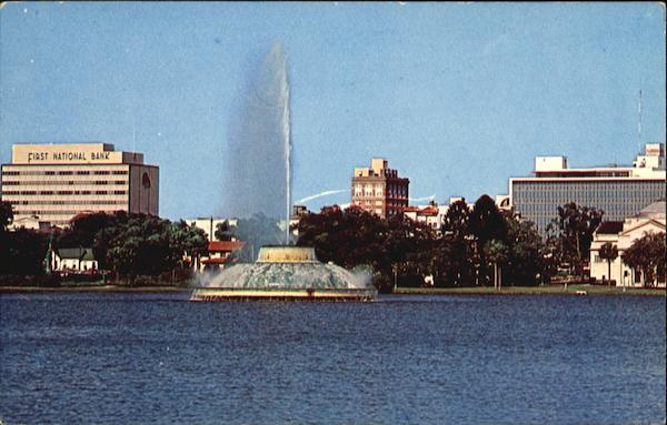 Centennial Fountain Orlando Florida