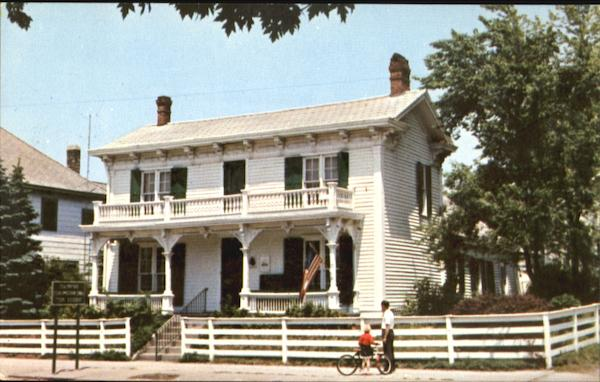 1849 Birthplace & Boyhood Home Of James Whitcomb Riley The Beloved Hoosier Poet Greenfield Indiana