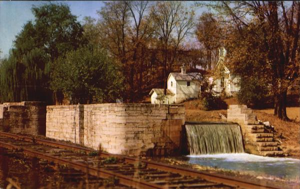 The Falls In The Whitewater Canal Metamora Indiana