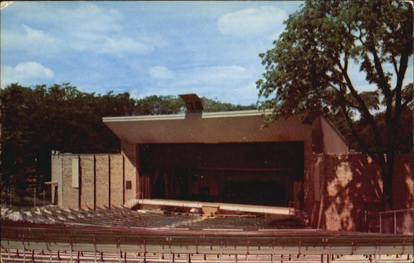 Open Air Theater At Franke Park Fort Wayne Indiana