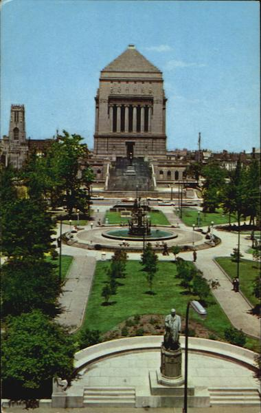 University Park And War Memorial Building Indianapolis