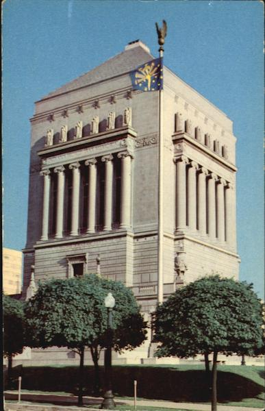 Indiana World War Memorial Shrine Building Indianapolis