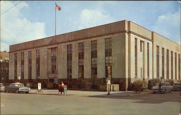 United States Post Office Gary Indiana