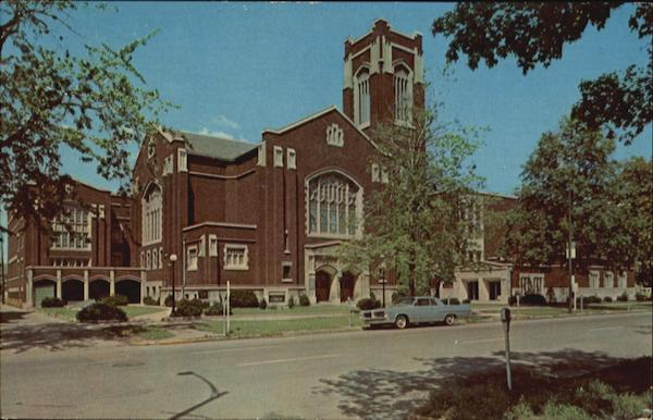 First Methodist Church, 333 North Main Street South Bend Indiana