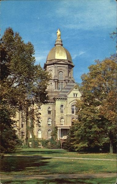Administration Building, University of Notre Dame South Bend Indiana