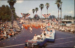 Annual Festival Of States Parade Postcard