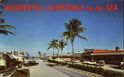 Wonderful Lauderdale By The Sea Postcard