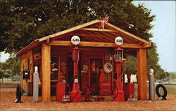 Gus Hicks Antique Gas Station