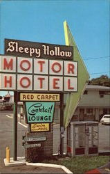 Sleepy Hollow Motor Hotel Deluxe Motel Units, 1800 Cassopolis Street