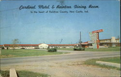 Cardinal Motel And Raintree Dining Room, State Road 3