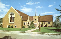 Augustana Lutheran Church, Kelly and Hickey Streets Postcard