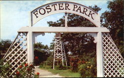 The Entrance To Foster Park