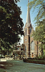 Trinity Methodist Church Postcard