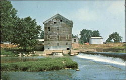 Old Stockdale Water Power Mill Postcard