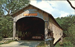Dunlapsville Covered Bridge, 1/2 Mile SE Dunlopsville