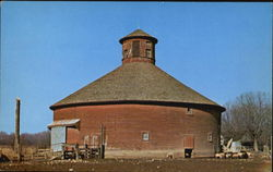 One Of Several Round Barns In Indiana