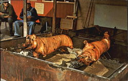 Pig Roast At Aztec Trading Post