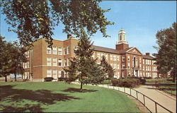 Gary Roosevelt High School Postcard