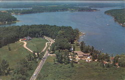 Lake James From The Air