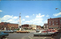 Civil War Monument And Square