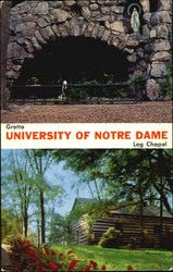 Notre Dame Grotto And Log Chapel