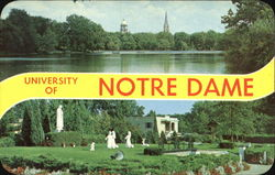 University Of Notre Dame Postcard
