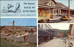 The Famous Back-40 Junction, U. S. Highway 27 & 33