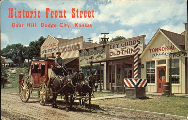 Historic Front Street Boot Hill Dodge City Ks